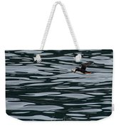 Puffin With Dinner Weekender Tote Bag
