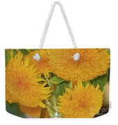 Puffy Golden Delight Weekender Tote Bag