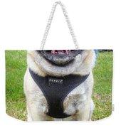 Pug Portrait Weekender Tote Bag