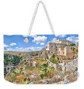 Puglia Canvas Church Hermitage Pulsano - Monte Sant Angelo - Foggia - Gargano Weekender Tote Bag