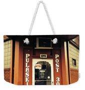 Pulaski Post Weekender Tote Bag