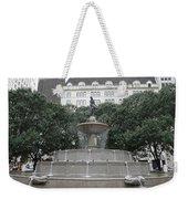 Pulitzer Fountain Weekender Tote Bag
