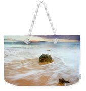 Pulled To The Sea Weekender Tote Bag by Mike  Dawson