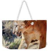 Puma Mountain Lion Nature Wear Weekender Tote Bag