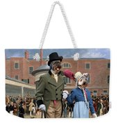 Pumi Art Canvas Print - Settling Day At Tattersalls Weekender Tote Bag