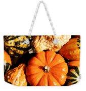 Pumkin And Gourds Weekender Tote Bag