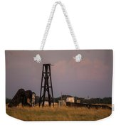 Pump Jack Golden Hour Weekender Tote Bag