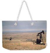 Pump Jacks Pump Oil In Rural Perryton Weekender Tote Bag