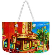 Pumperniks And The Snowdon Theatre Weekender Tote Bag
