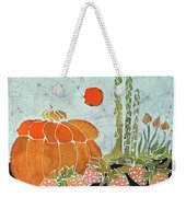 Pumpkin And Asparagus Weekender Tote Bag