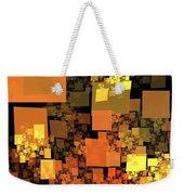 Pumpkin Autumn Cubes Weekender Tote Bag