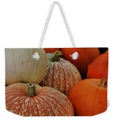 Pumpkin Colors Weekender Tote Bag