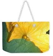 Pumpkin Flower Weekender Tote Bag