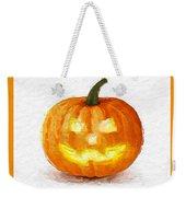 Pumpkin Glow Weekender Tote Bag