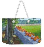 Pumpkin Muster Weekender Tote Bag