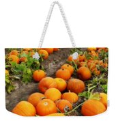 Pumpkin Patch Weekender Tote Bag
