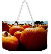 Pumpkin Patch Piles Weekender Tote Bag