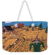 Pumpkin Patch Scarecrow Weekender Tote Bag
