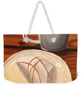 Pumpkin Scone And Pumpkin Latte Weekender Tote Bag