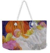 Pumpkin Still Life Weekender Tote Bag