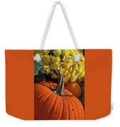 Pumpkin Still Life  Weekender Tote Bag