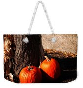 Pumpkin Time Weekender Tote Bag