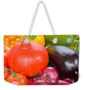 Pumpkin With  Vegetables Weekender Tote Bag