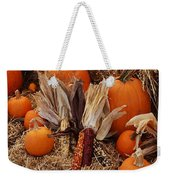 Pumpkins And Corn Weekender Tote Bag