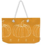 Pumpkins- Art By Linda Woods Weekender Tote Bag