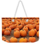 Pumpkins Waiting For Homes Weekender Tote Bag