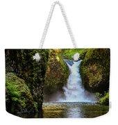 Punch Bowl Falls, Oregon Weekender Tote Bag