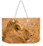 Punk Mane Weekender Tote Bag by Adam Romanowicz