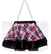 Punk Style Mini Skirt - Ameynra Fashion Weekender Tote Bag