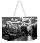 Punting, Cambridge. Weekender Tote Bag