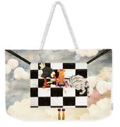 Puppet Doggy In Trouble Again Weekender Tote Bag