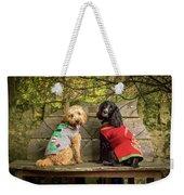 Puppies Weekender Tote Bag