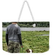 Puppy Guard Majestic Forest Weekender Tote Bag