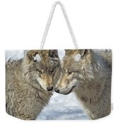 Puppy Love.. Weekender Tote Bag