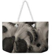 Puppy Paws Weekender Tote Bag