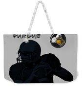 Purdue Football Weekender Tote Bag