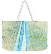 Pure Michigan Boating Weekender Tote Bag