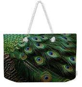 Pure Peacock Weekender Tote Bag