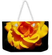 Pure Yellow Petals Weekender Tote Bag