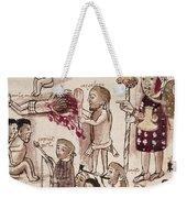Purepecha People Weekender Tote Bag