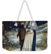 Puritans Going To Church Weekender Tote Bag