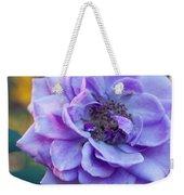 Purple Rose Glow Weekender Tote Bag