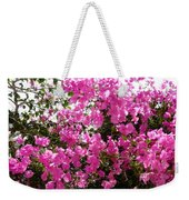Purple Abundance Weekender Tote Bag