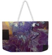 Purple Abyss Weekender Tote Bag by Sonya Wilson