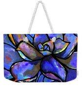 Purple Agave Weekender Tote Bag