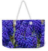 Purple And Blue Weekender Tote Bag